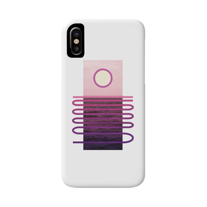 Sunset At Sea Accessories Phone Case by Sam Arias