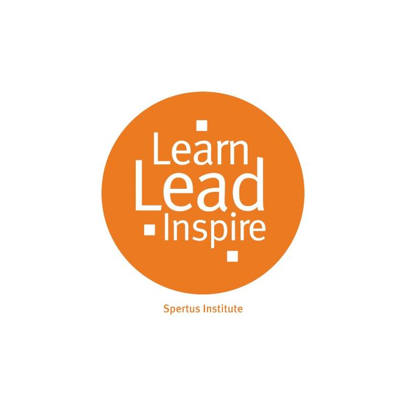 Learn Lead Inspire Orange Circle Accessories Mug by Spertus Shop