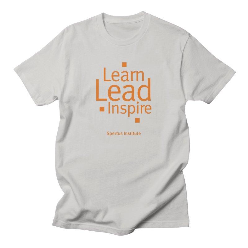 Learn Lead Inspire Orange Men's T-Shirt by Spertus Shop