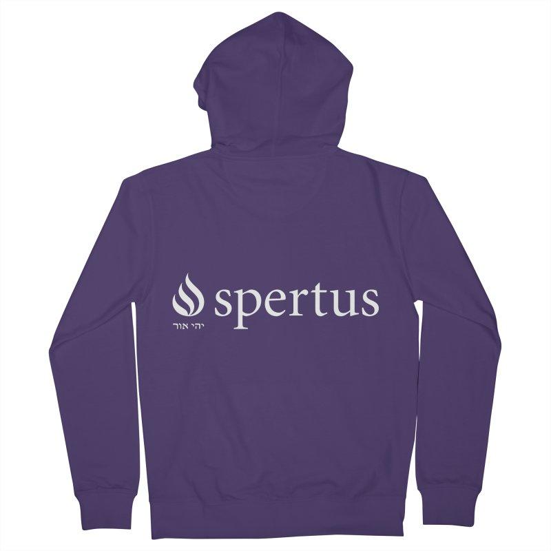 Spertus Logo White Women's Zip-Up Hoody by Spertus Shop