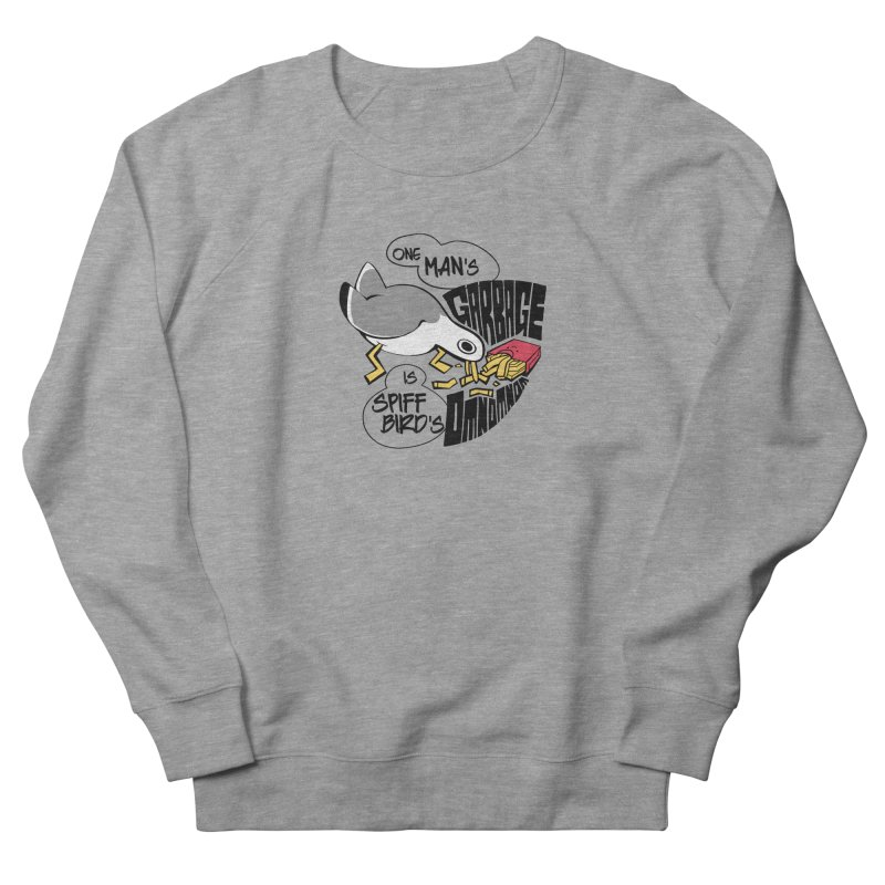 One Man's Garbage is Spiff Bird's Omnomnom Women's Sweatshirt by The Spiffai Team Shop