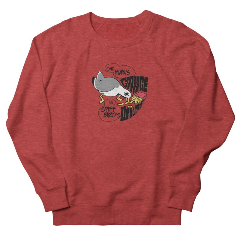 One Man's Garbage is Spiff Bird's Omnomnom Women's Sweatshirt by The Spiffai Team Shop