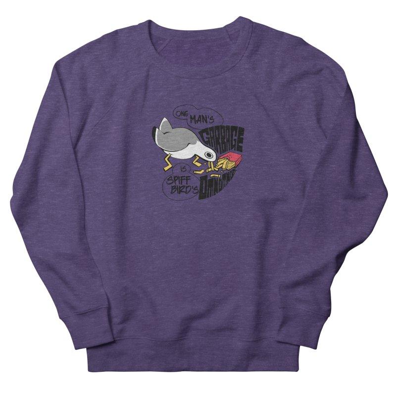 One Man's Garbage is Spiff Bird's Omnomnom Men's Sweatshirt by The Spiffai Team Shop