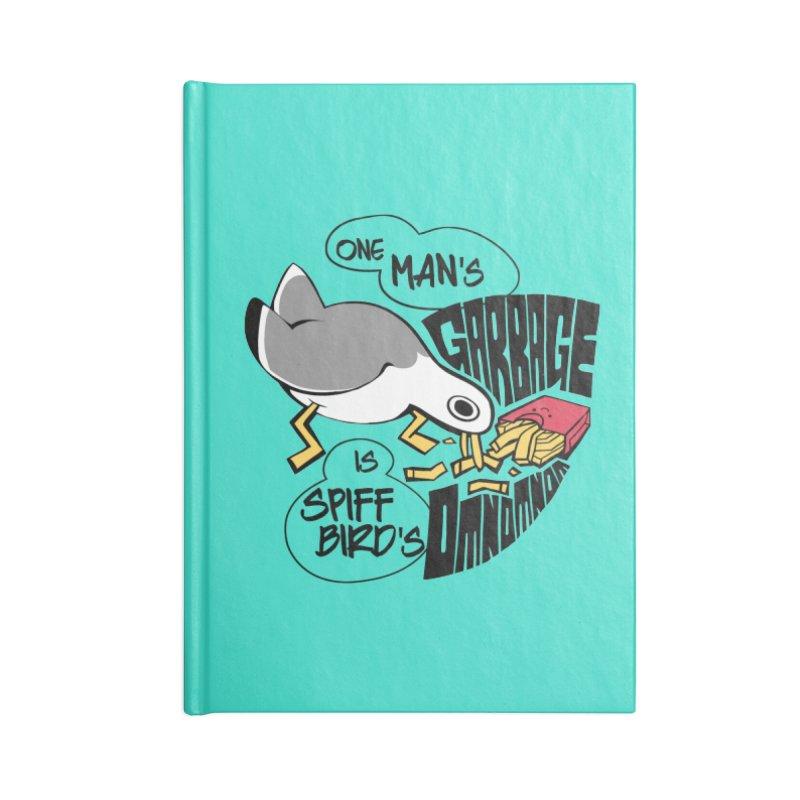One Man's Garbage is Spiff Bird's Omnomnom Accessories Notebook by The Spiffai Team Shop