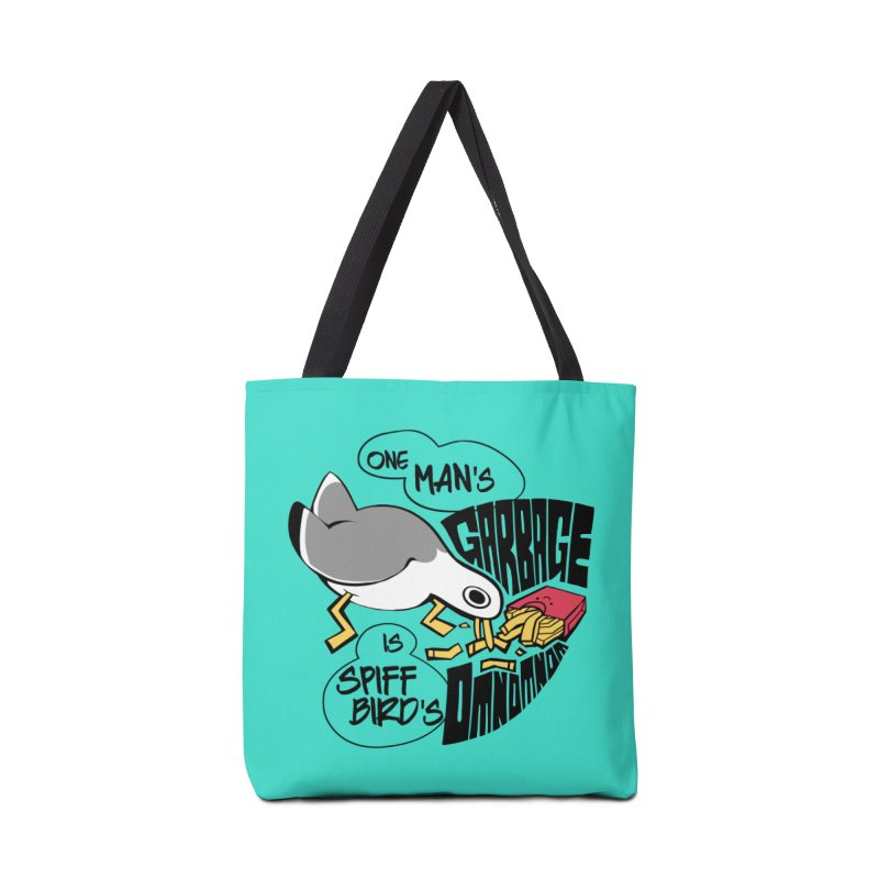 One Man's Garbage is Spiff Bird's Omnomnom Accessories Bag by The Spiffai Team Shop