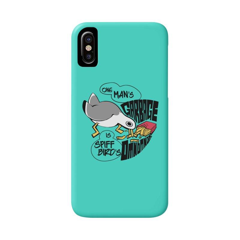 One Man's Garbage is Spiff Bird's Omnomnom Accessories Phone Case by The Spiffai Team Shop