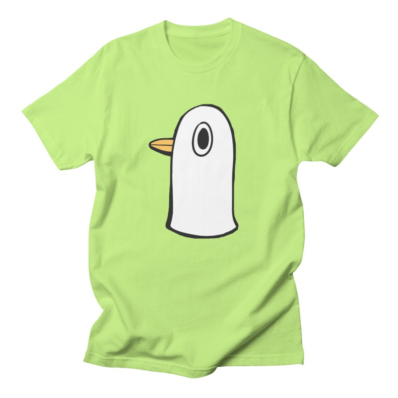 Spiff Bird Knows What You Did in Men's Regular T-Shirt Neon Green by The Spiffai Shop