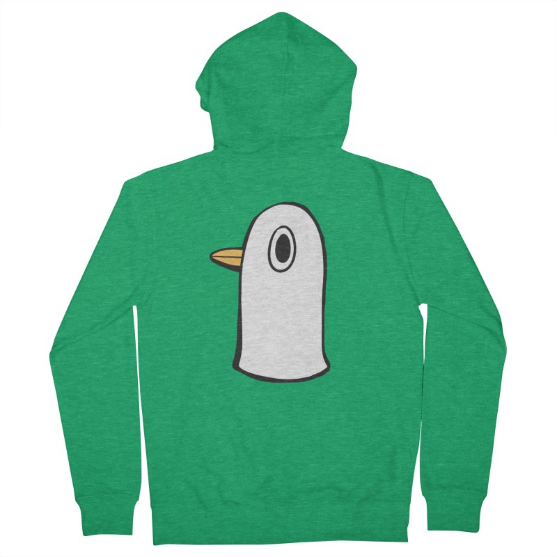 Spiff Bird Knows What You Did Men's Zip-Up Hoody by The Spiffai Shop