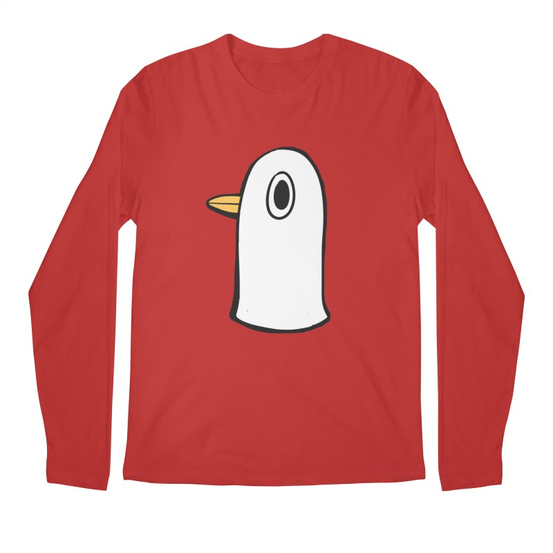 Spiff Bird Knows What You Did Men's Longsleeve T-Shirt by The Spiffai Shop