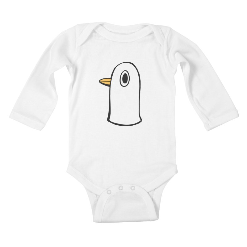 Spiff Bird Knows What You Did Kids Baby Longsleeve Bodysuit by The Spiffai Team Shop