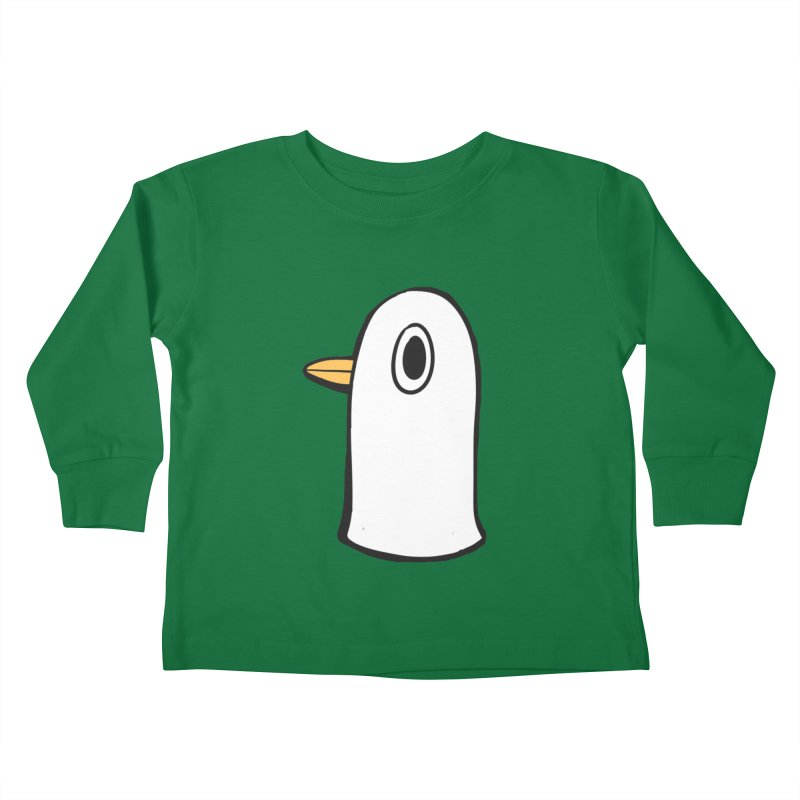 Spiff Bird Knows What You Did Kids Toddler Longsleeve T-Shirt by The Spiffai Team Shop
