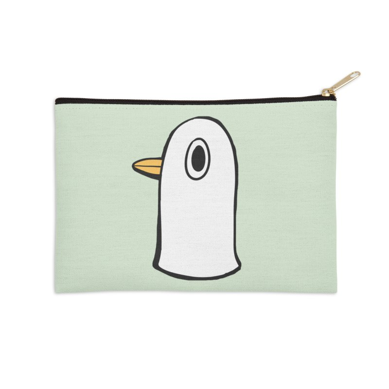 Spiff Bird Knows What You Did Accessories Zip Pouch by The Spiffai Team Shop