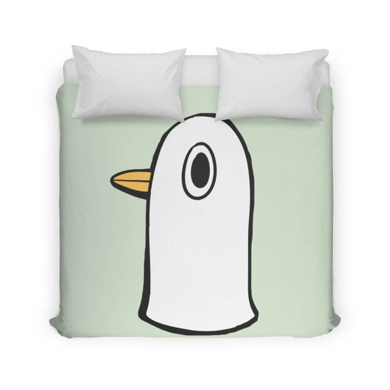 Spiff Bird Knows What You Did Home Duvet by The Spiffai Team Shop