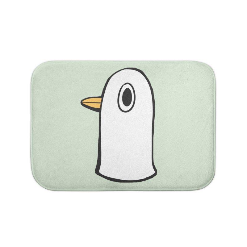 Spiff Bird Knows What You Did Home Bath Mat by The Spiffai Team Shop