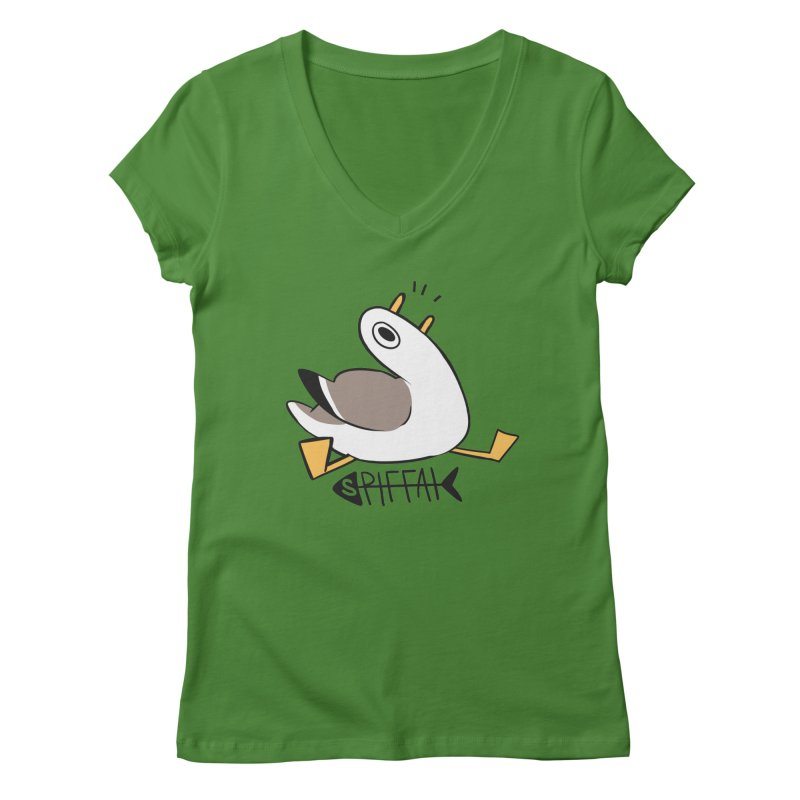 Spiffai Logo Women's V-Neck by The Spiffai Team Shop