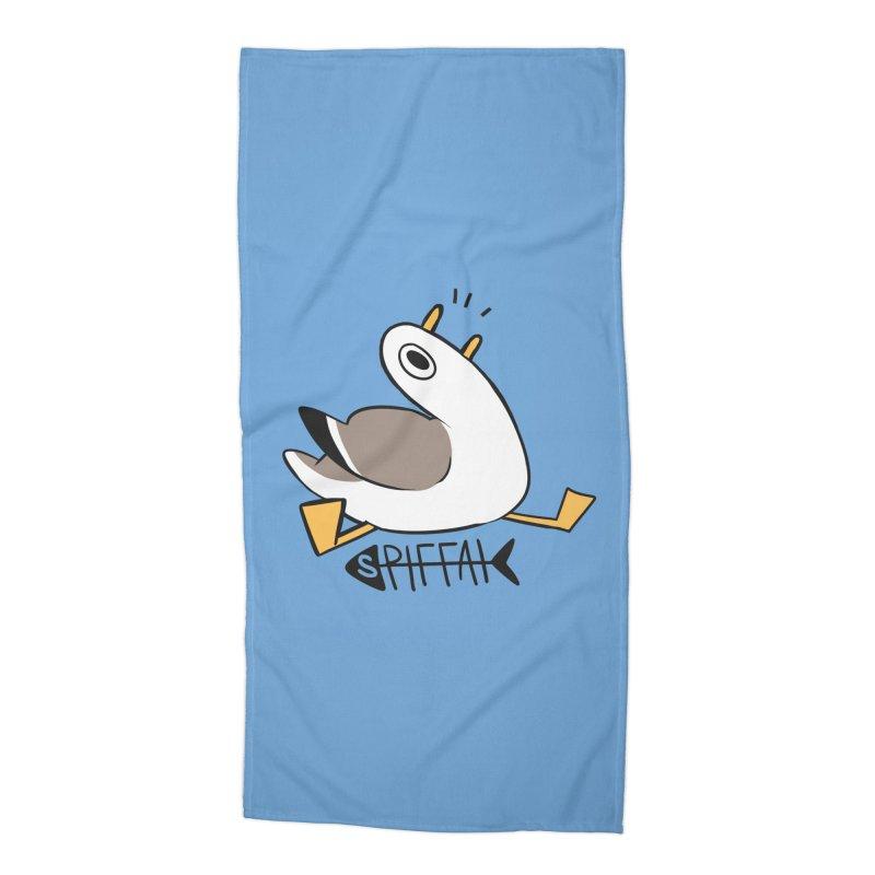 Spiffai Logo Accessories Beach Towel by The Spiffai Team Shop