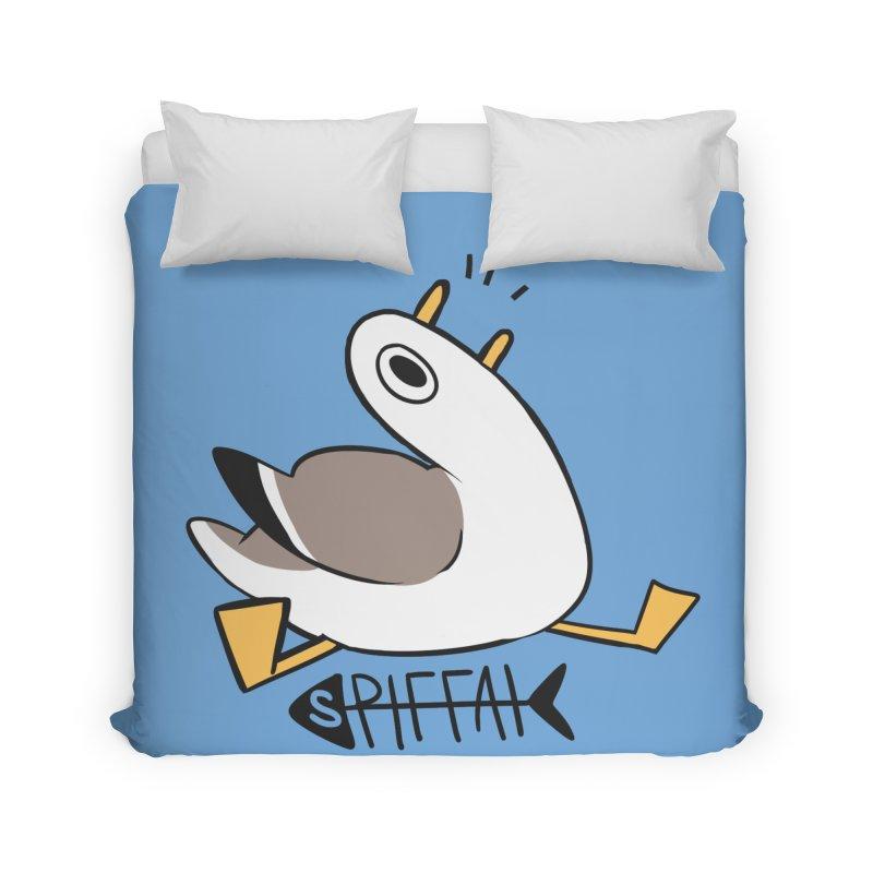 Spiffai Logo Home Duvet by The Spiffai Shop