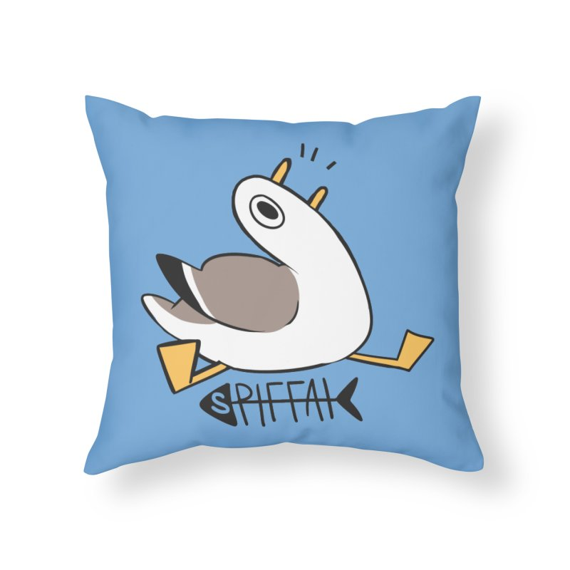 Spiffai Logo Home Throw Pillow by The Spiffai Team Shop