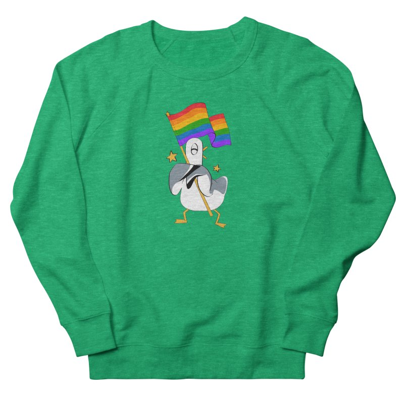 Spiff Bird Has Pride Women's Sweatshirt by The Spiffai Team Shop