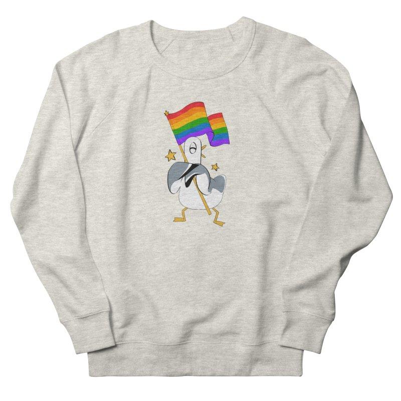 Spiff Bird Has Pride Men's Sweatshirt by The Spiffai Team Shop