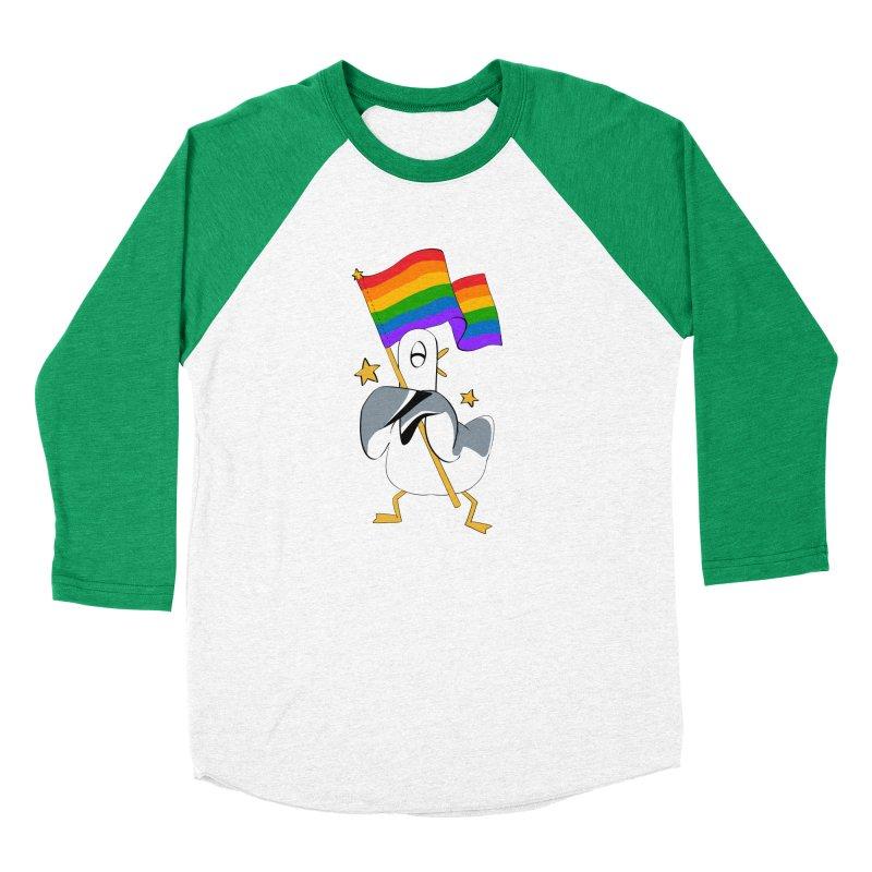 Spiff Bird Has Pride Men's Baseball Triblend T-Shirt by The Spiffai Team Shop