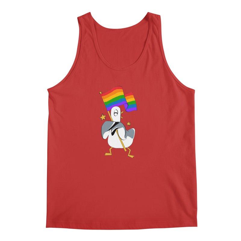 Spiff Bird Has Pride Men's Tank by The Spiffai Team Shop
