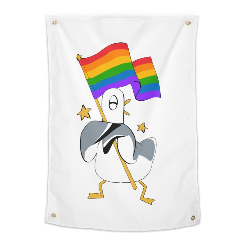 Spiff Bird Has Pride Home Tapestry by The Spiffai Team Shop