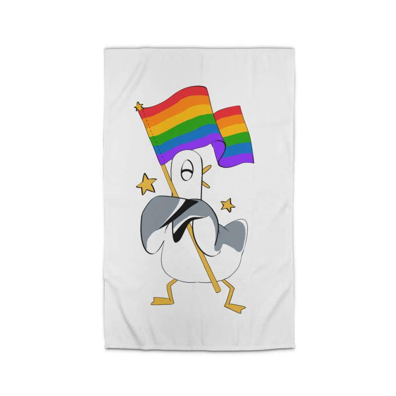 Spiff Bird Has Pride Home Rug by The Spiffai Team Shop