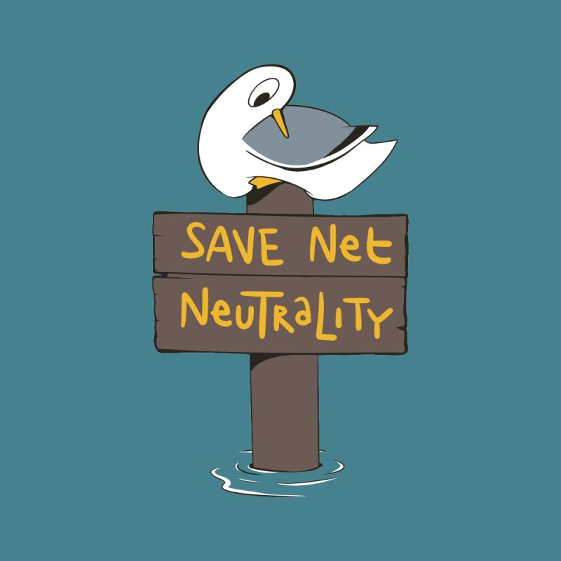 Save Net Neutralilty Spiff Bird None  by The Spiffai Team Shop