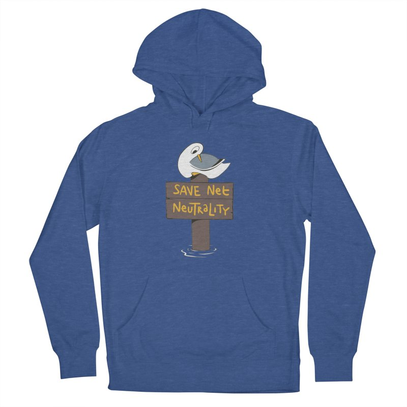 Save Net Neutralilty Spiff Bird Women's Pullover Hoody by The Spiffai Team Shop