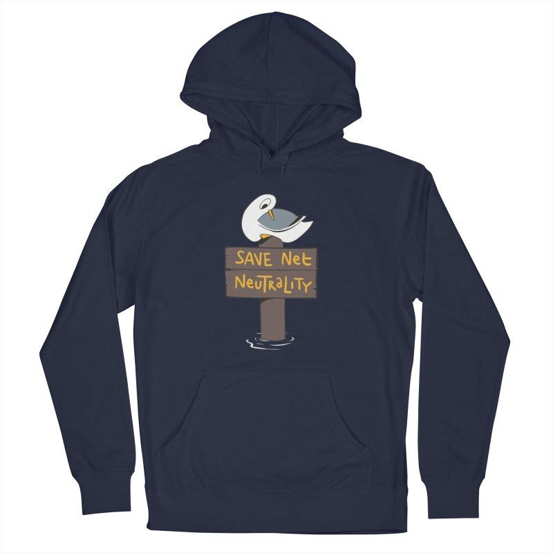 Save Net Neutralilty Spiff Bird Men's Pullover Hoody by The Spiffai Team Shop