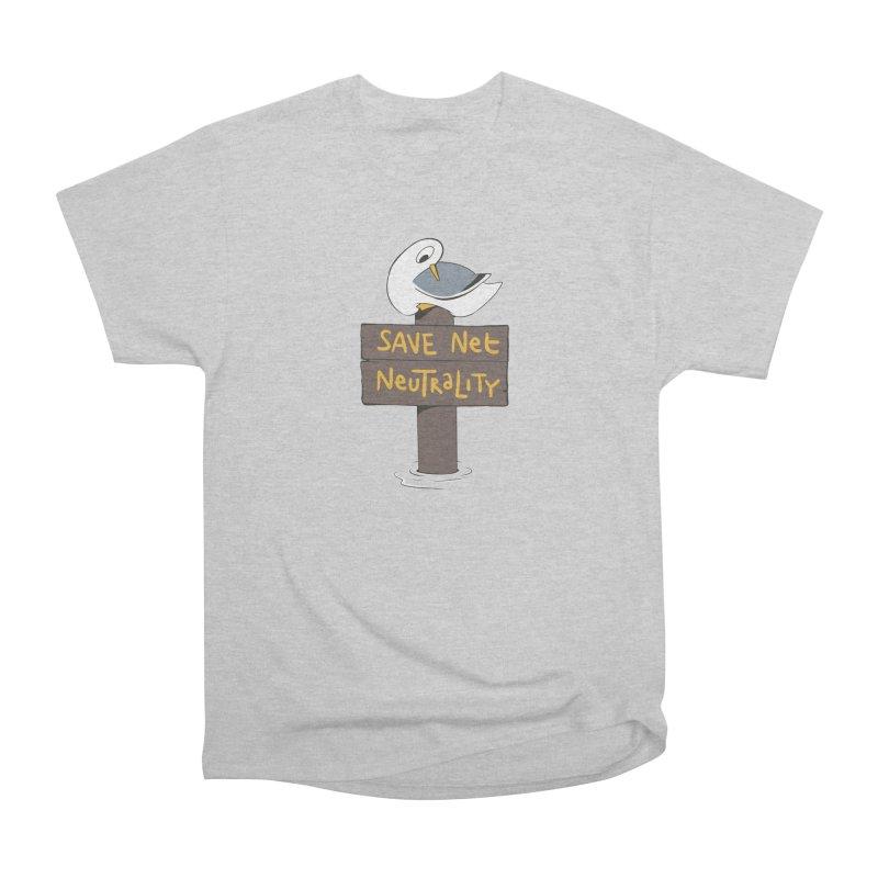 Save Net Neutralilty Spiff Bird Men's Classic T-Shirt by The Spiffai Team Shop