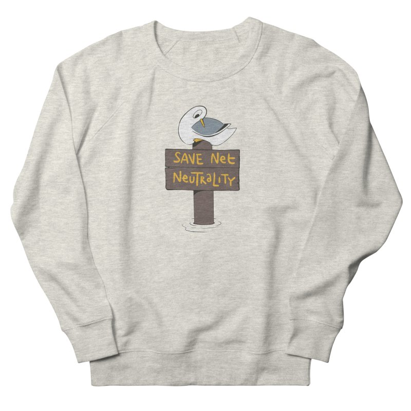 Save Net Neutralilty Spiff Bird Women's Sweatshirt by The Spiffai Team Shop