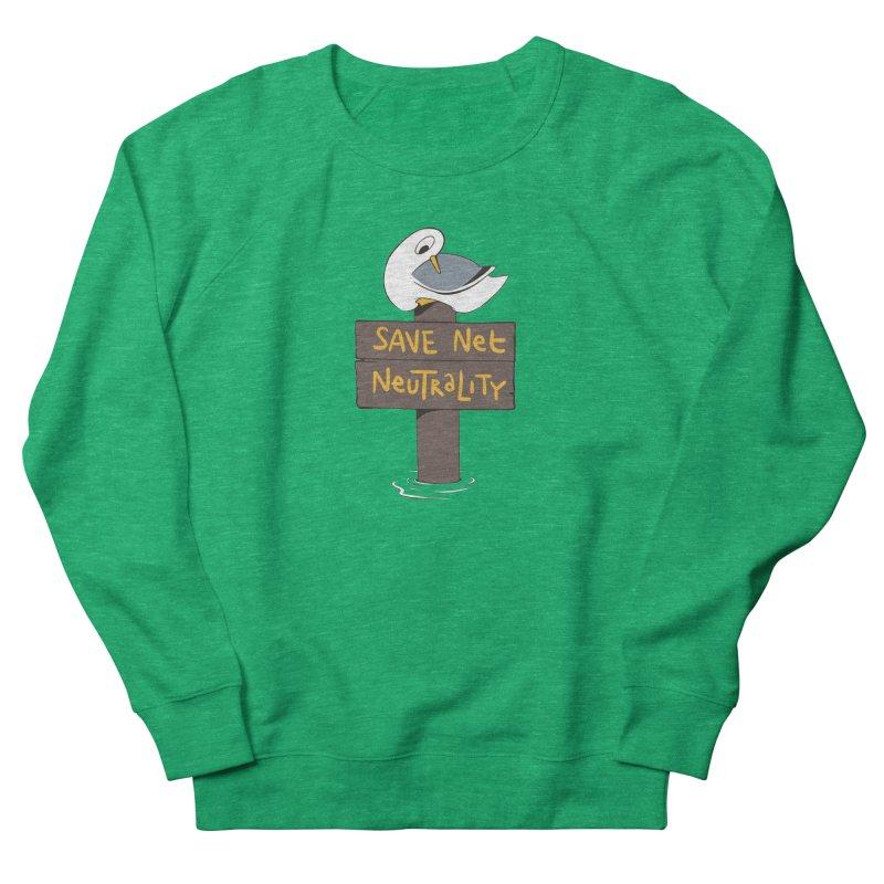Save Net Neutralilty Spiff Bird Men's Sweatshirt by The Spiffai Team Shop