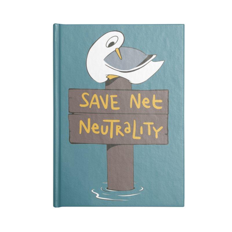 Save Net Neutralilty Spiff Bird Accessories Notebook by The Spiffai Team Shop