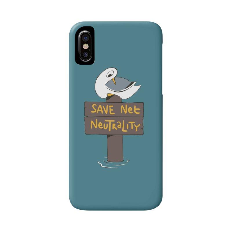 Save Net Neutralilty Spiff Bird Accessories Phone Case by The Spiffai Team Shop