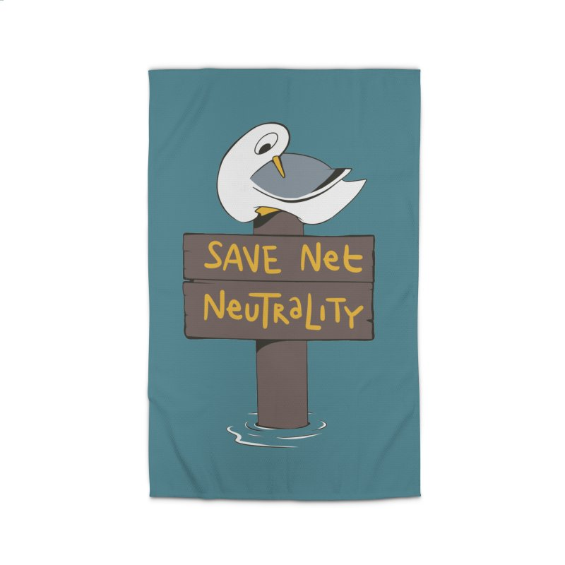 Save Net Neutralilty Spiff Bird Home Rug by The Spiffai Team Shop