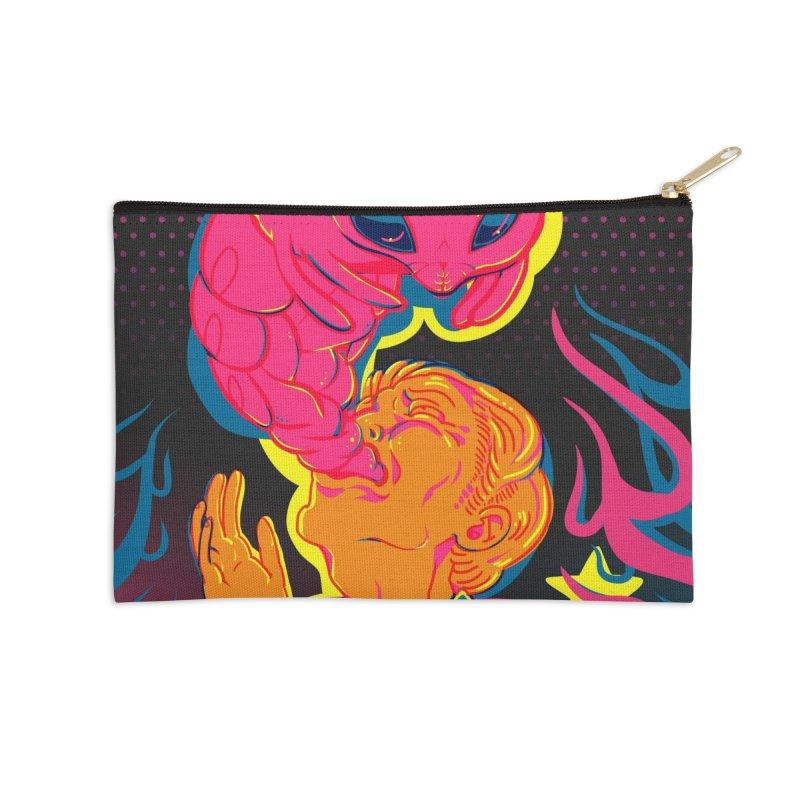 Belphegor Card Art Accessories Zip Pouch by The Spiffai Shop