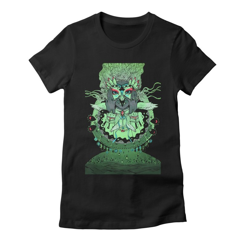 Archange Khamael from S2V2 Women's Fitted T-Shirt by The Spiffai Shop