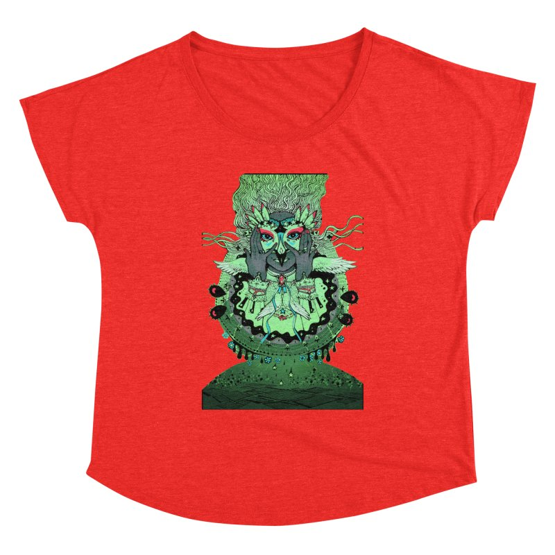 Archange Khamael from S2V2 Women's Scoop Neck by The Spiffai Shop
