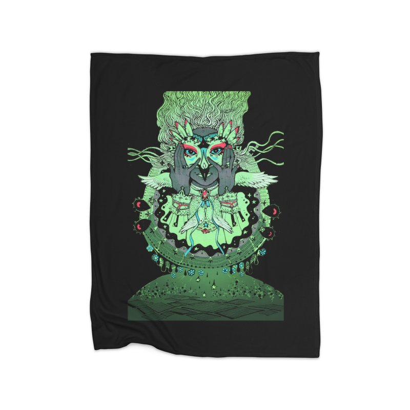 Archange Khamael from S2V2 Home Fleece Blanket Blanket by The Spiffai Shop