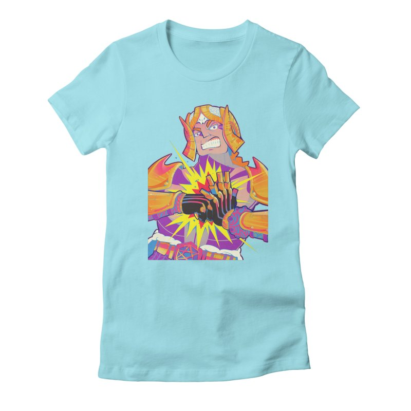 Archangel Samael from S2V2 Women's Fitted T-Shirt by The Spiffai Shop