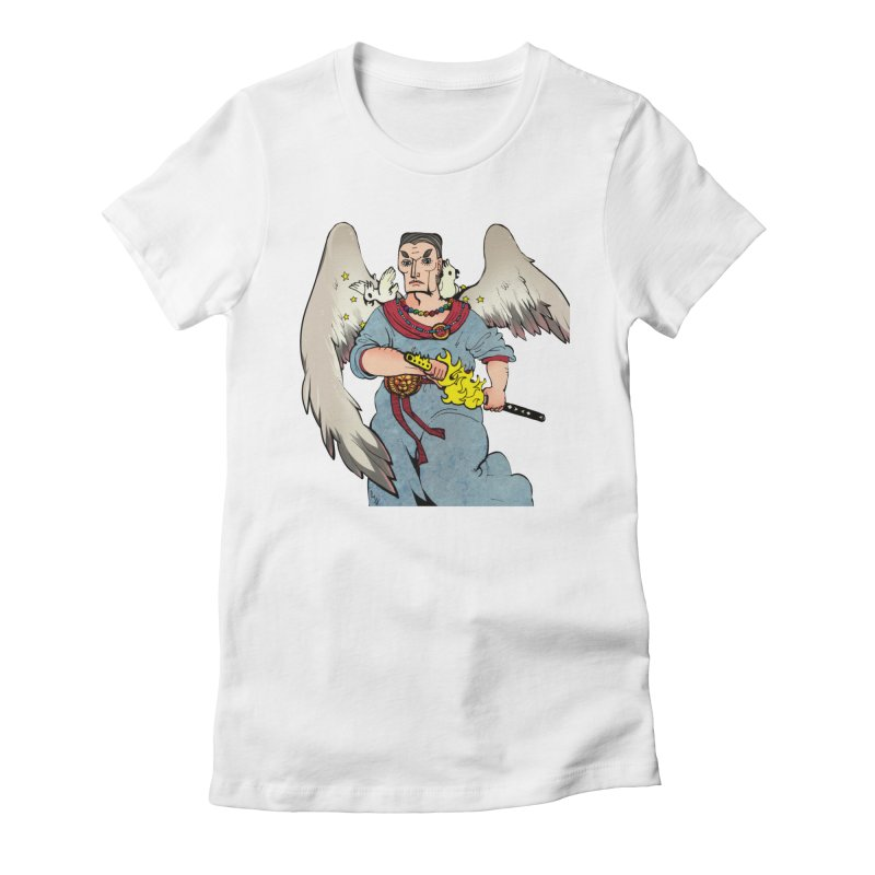 Archangel Uriel from S2V2 Women's Fitted T-Shirt by The Spiffai Shop