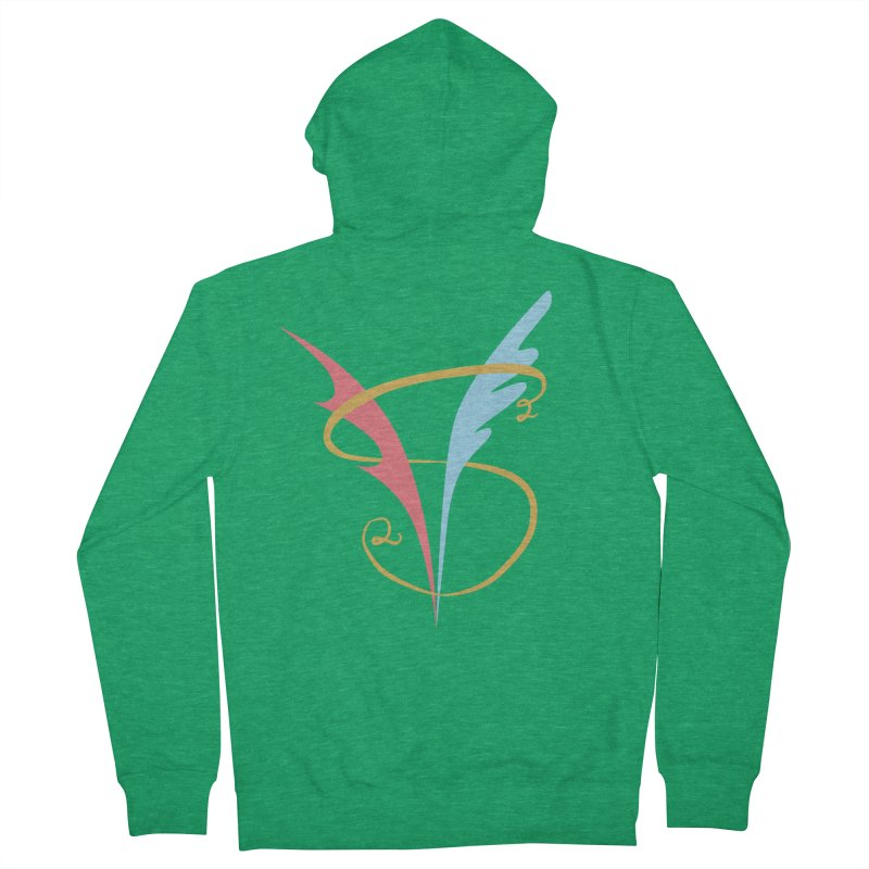 S2V2 Logo Men's Zip-Up Hoody by The Spiffai Shop