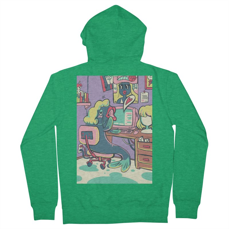 Catfishing Card Art from S2V2 Women's Zip-Up Hoody by The Spiffai Shop