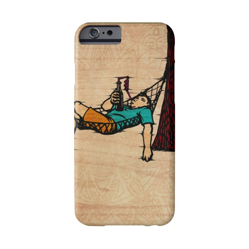 Do Nothing Card Art Accessories Phone Case by The Spiffai Shop