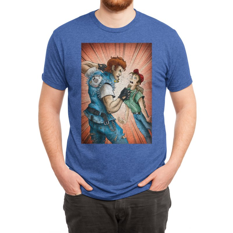 Bullying Card Art Men's T-Shirt by The Spiffai Shop