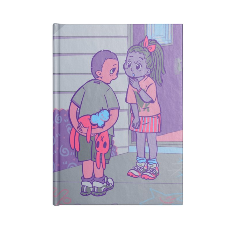 Honesty Card Art Accessories Notebook by The Spiffai Shop