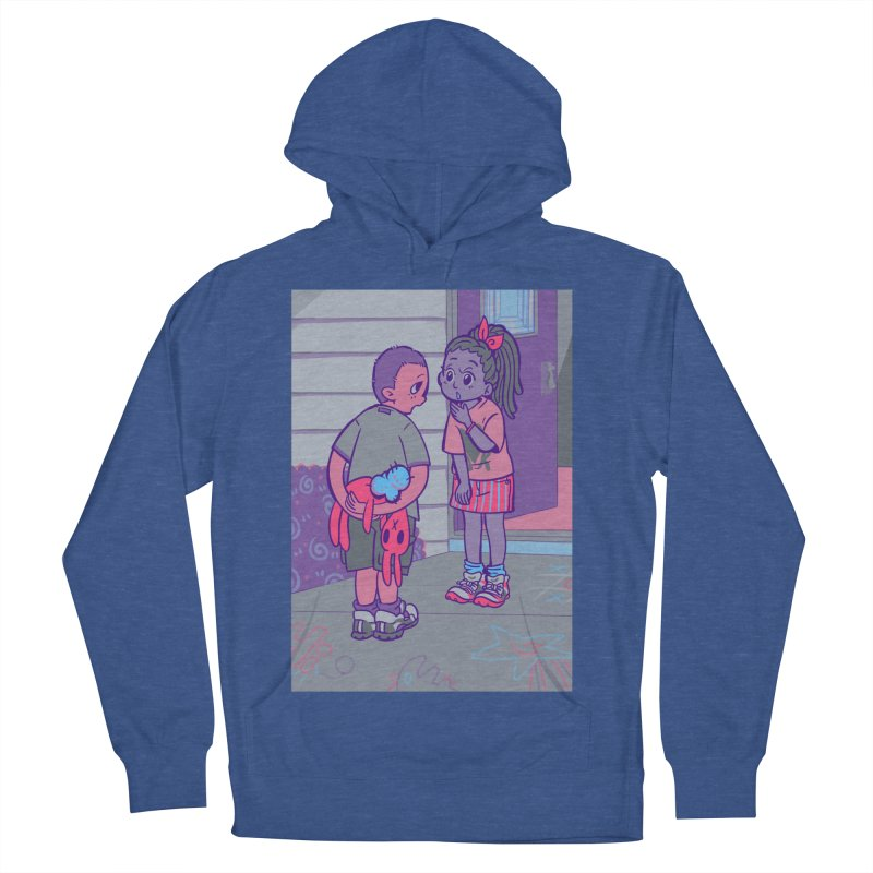 Honesty Card Art Women's French Terry Pullover Hoody by The Spiffai Shop