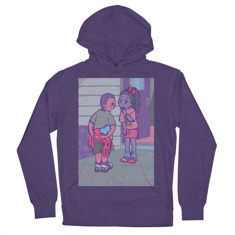 Honesty Card Art Men's French Terry Pullover Hoody by The Spiffai Shop